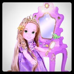 Other - Tangled Rapunzel Vanity Set